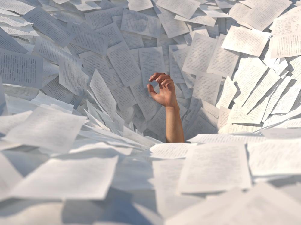 too much paperwork?
